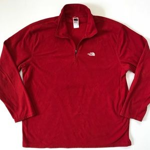 The North Face Quarter 1/4 Zip TKA 100 Pullover